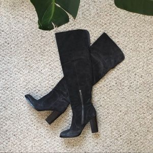 FRYE Women's Claude Tall Slouch Boot (GREY)